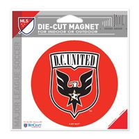"""Picture of DC United Die Cut Magnet 45"""" x 6"""""""