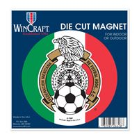 "Picture of Mexican National Soccer Die Cut Magnet 45"" x 6"""