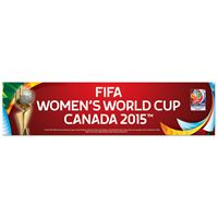 "Picture of Women's World Cup Generic Bumper Strip 3"" x 12"""