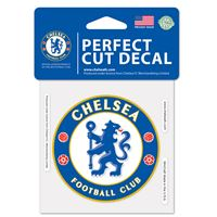 "Picture of Chelsea FC Perfect Cut Color Decal 4"" x 4"""