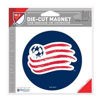"""Picture of New England Revolution Die Cut Magnet 45"""" x 6"""""""