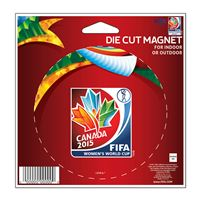 "Picture of Women's World Cup Generic Die Cut Magnet 45"" x 6"""