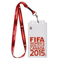 Picture of Women's World Cup Generic Credential Holder w/Lanyard