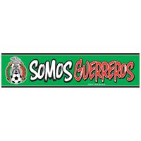 "Picture of Mexican National Soccer Bumper Strip 3"" x 12"""