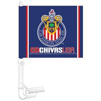 "Picture of MLS Chivas USA Car Flag 1175"" x 14"""