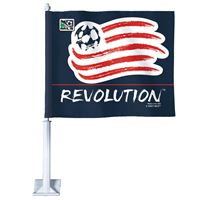 """Picture of New England Revolution Car Flag 1175"""" x 14"""""""