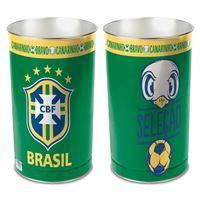 "Picture of CBF Brasil Wastebasket - tapered 15""H"