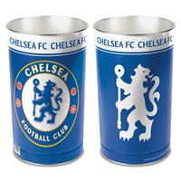 """Picture of Chelsea FC Wastebasket - tapered 15""""H"""
