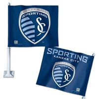 """Picture of Sporting Kansas City Car Flag 1175"""" x 14"""""""
