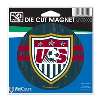 "Picture of US Soccer - National Team Die Cut Magnet 45"" x 6"""