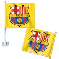 "Picture of FC Barcelona Car Flag 1175"" x 14"""