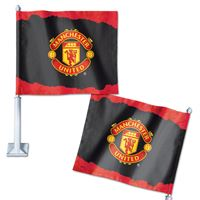 "Picture of Manchester United Car Flag 1175"" x 14"""