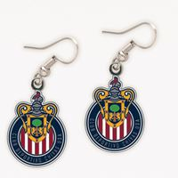 Picture of MLS Chivas USA Earrings Jewelry Card
