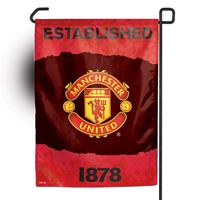 "Picture of Manchester United Garden flag 11"" x 15"""