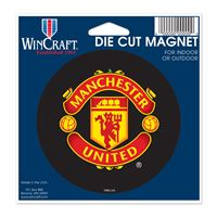 "Picture of Manchester United Die Cut Magnet 45"" x 6"""