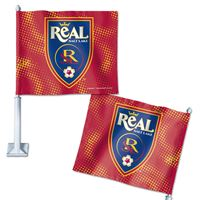 "Picture of Real Salt Lake Car Flag 1175"" x 14"""