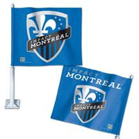 "Picture of Impact Montreal Car Flag 1175"" x 14"""