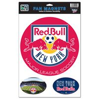 "Picture of New York Red Bulls Car/Fan Magnet 115"" x 17"""