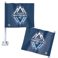 "Picture of Vancouver Whitecaps FC Car Flag 1175"" x 14"""