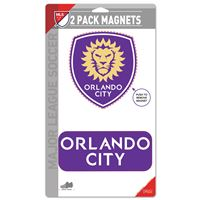 "Picture of Orlando City SC 2 Pack Magnets 5"" x 9"""