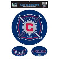 """Picture of Chicago Fire Car/Fan Magnet 115"""" x 17"""""""