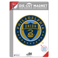 "Picture of Philadelphia Union Die Cut Logo Magnet 625"" x 9"""