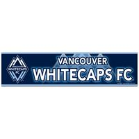 "Picture of Vancouver Whitecaps FC Bumper Strip 3"" x 12"""