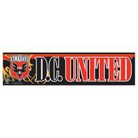 """Picture of DC United Bumper Strip 3"""" x 12"""""""