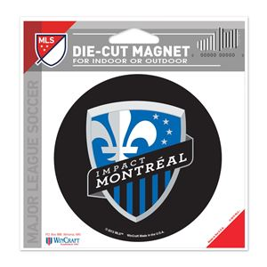 """Picture of Impact Montreal Die Cut Magnet 45"""" x 6"""""""