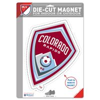 "Picture of Colorado Rapids Die Cut Logo Magnet 625"" x 9"""