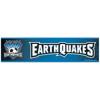 "Picture of San Jose Earthquakes Bumper Strip 3"" x 12"""