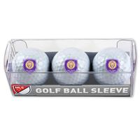 Picture of Orlando City SC Golf Balls - 3 pc sleeve