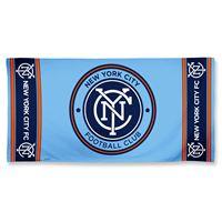 "Picture of New York City FC Fiber Beach Towel 9lb 30"" x 60"""
