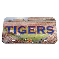 Picture of Auburn University Crystal Mirror License Plate