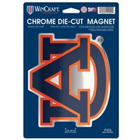Picture of Auburn University Chrome Magnet 625 x 9