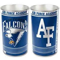 """Picture of Air Force Academy Wastebasket - tapered 15""""H"""