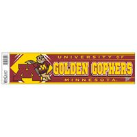 "Picture of Minnesota, University of Bumper Strip 3"" x 12"""