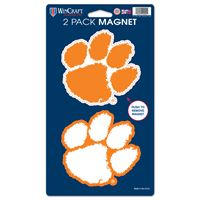 "Picture of Clemson University 2 Pack Magnets 5"" x 9"""