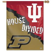 "Picture of Indiana University^Purdue University Vertical Flag 27"" x 37"""