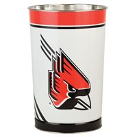 "Picture of Ball State University Wastebasket - tapered 15""H"