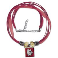 Picture of Minnesota-Duluth, University of Lifetile Ribbon Necklace w/Beads