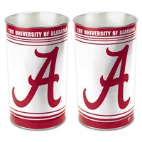 """Picture of Alabama, University of Wastebasket - tapered 15""""H"""