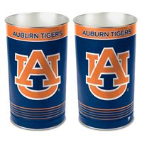 "Picture of Auburn University Wastebasket - tapered 15""H"