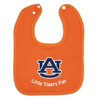 Picture of Auburn University Colored Snap Baby Bib