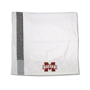 Picture of Mississippi State University Ribbed Bench/Caddy Towel