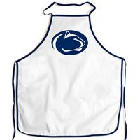 Picture of Penn State University Barbeque Aprons - white