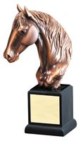 """Picture of RFB143 Gallery Resin Horse Head 12"""""""