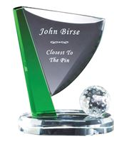 Picture of Crystal Golf Pin and Ball - 3 sizes available